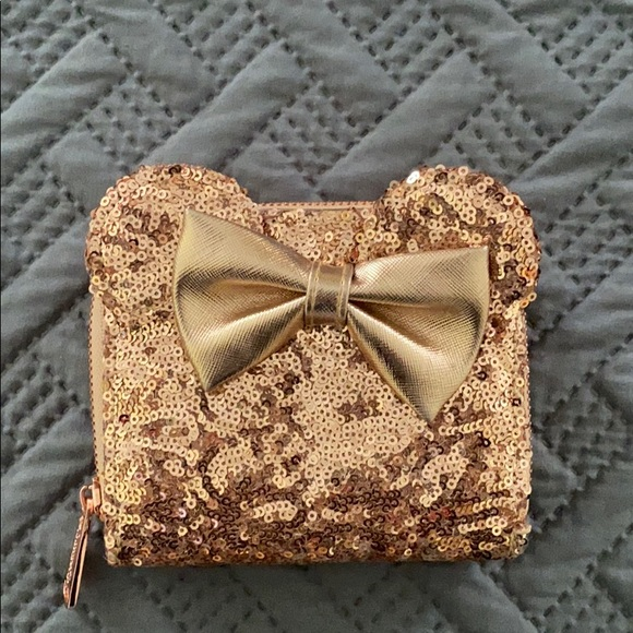 Loungefly Rose Gold wallet